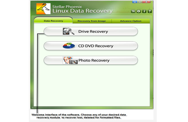 Restore Linux Data