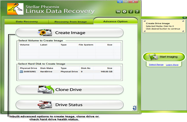 Recover Linux data